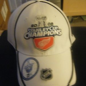 NEW ERA  - Detroit Red Wings 2008 Stanley Cup  Cap